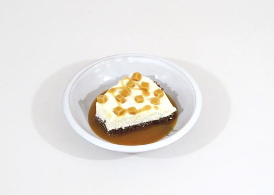Lumpy Bumpy Cheesecake Servierbeispiel