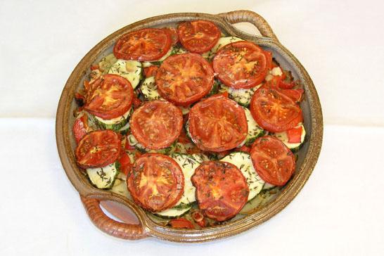 Provençalisches Gemüsegratin