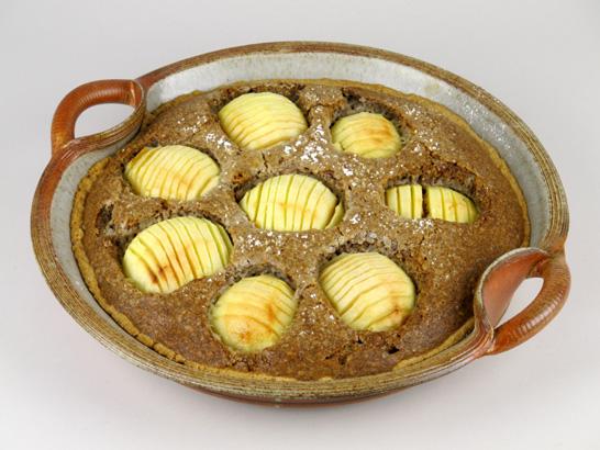 Walnuss-Apfel-Tarte