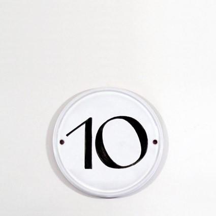 runde Hausnummer
