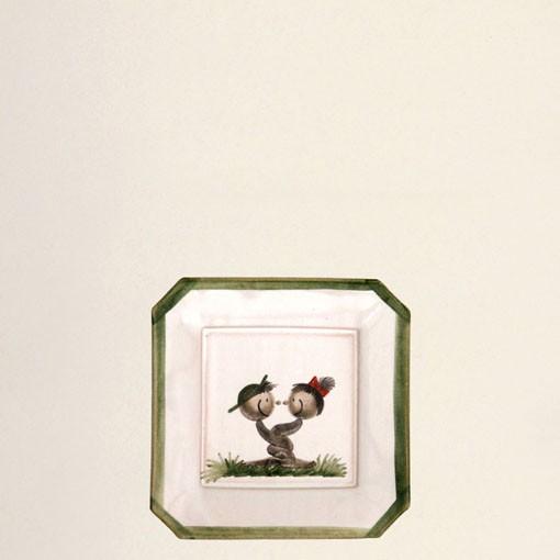 viereckige Platte mini